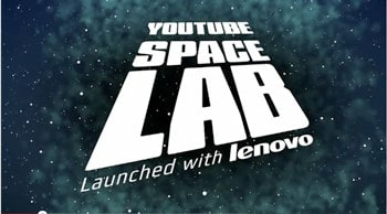 Enter the YouTube Space Lab competition by designing an experiment that can be conducted in space, making a film about it and uploading to YouTube.