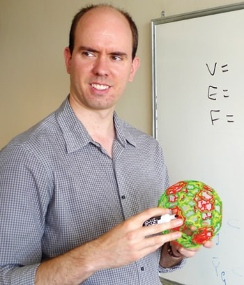 Associate Professor Anthony Henderson won the 2012 Australian Mathematical Society Medal for his distinguished research on geometric and combinatorial aspects of representation theory.