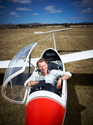 Taking to the sky in small planes, gliders, helicopters, hot air balloons and anything else that will carry him, Professor Simpson takes us on a unique journey across Australia looking at how we humans interact with this great continent in the TV series Great Southern Land.