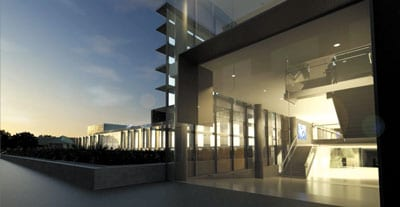 An artist's impression of the new Australian Institute for Nanoscience, to be completed in mid 2015.