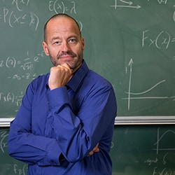 Adam Spencer has been announced as the University of Sydney's Maths and Science Ambassador.