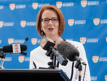 Julia Gillard served as the 27th Prime Minister of Australia.
