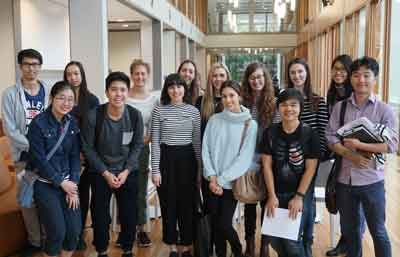 A group of students from the Faculty of Science's Talented Student Program visited the Westmead health precinct on 9 May, to find out more about the breadth and depth of research opportunities on offer.