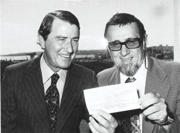 Harry Messel & Neville Wran