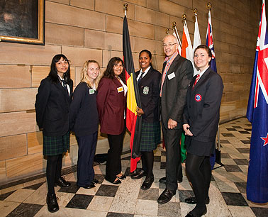 Dr Karl with the ISS2009 Indigenous Science Scholars