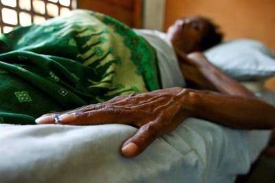 An HIV/AIDS patient at a clinic in Timor Leste - Martine Perret/UN Photo